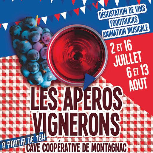 Les apéros vignerons à la cave coopérative de Montagnac