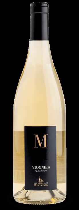 Gamme M IGP Pays d'Oc Viognier, les vins de cépages des vignerons de Montagnac Domitienne