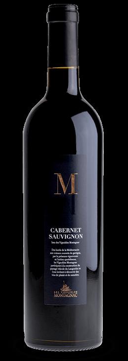 Gamme M Cabernet Sauvignon, les vins de cépages des vignerons de Montagnac Domitienne