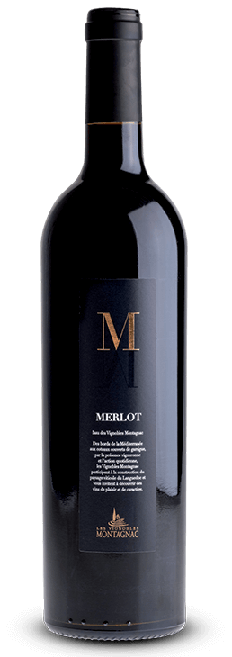 Gamme M Merlot, les vins de cépages des vignerons de Montagnac Domitienne
