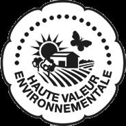 Logo Haute Valeur Environnementale, les vignerons de Montagnac Domitienne, vin IGP Pays d'Oc s'engagent de manière très forte vers cette norme.
