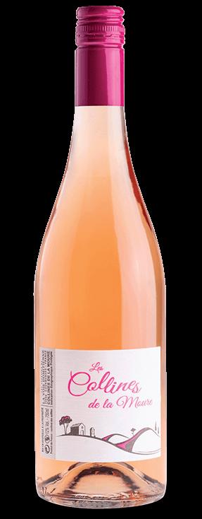 Les Collines de la Moure Rosé IGP Rosé, les vins cuvées découvertes des vignerons de Montagnac Domitienne