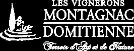 Logo des vignerons Montagnac Domitienne, vins picpoul de Pinet, IGP Pays d'Oc